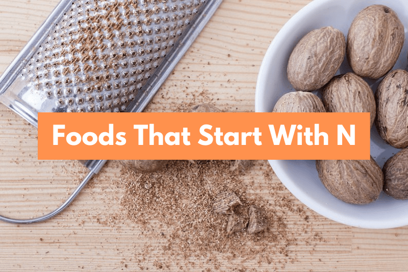 Food That Starts with N