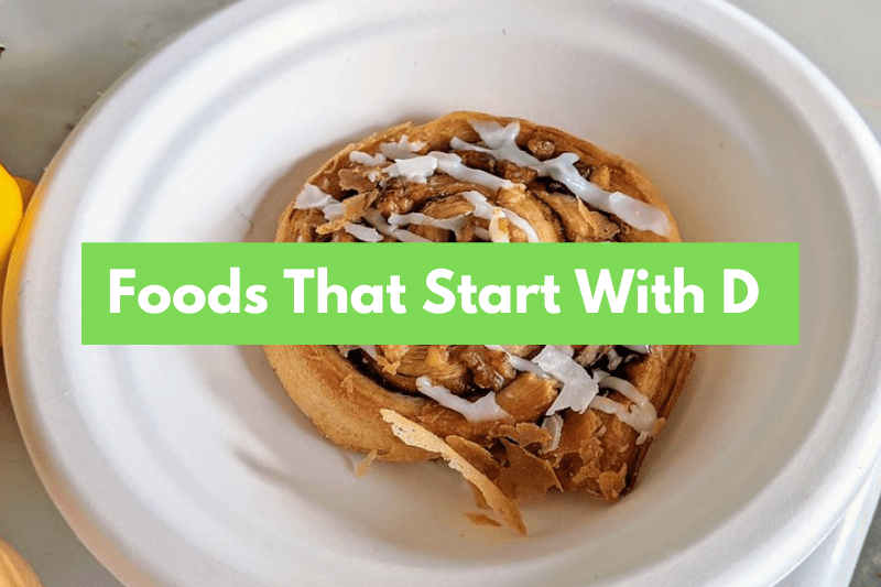 Foods That Start With D