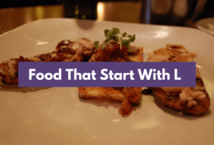 Food That Starts with L