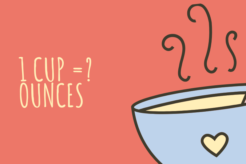 How many ounces in a cup?